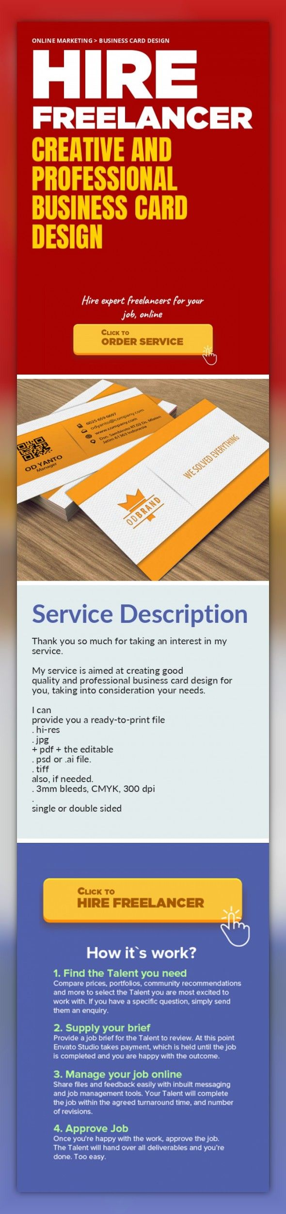 Creative and Professional Business Card Design Online Marketing, Business Card Design   Thank you so much for taking an interest in my service.    My service is aimed at creating good quality and professional business card design for you, taking into consideration your needs.    I can provide you a ready-to-print file   . hi-res   . jpg + pdf + the editable   . psd or .ai file.   . tiff also, if n...