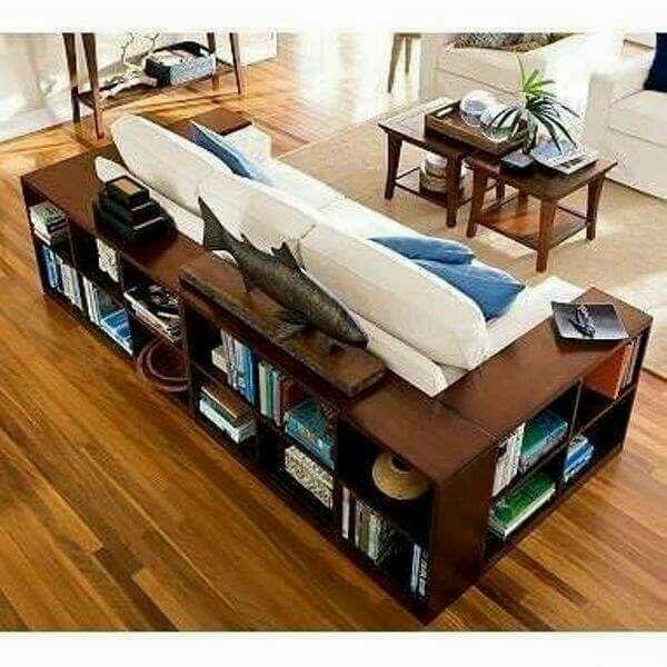 Podes armar un sillon juntando tus estantes. No tienen porque ser todos iguales, ya que con los almohadones se terminan de unificar.