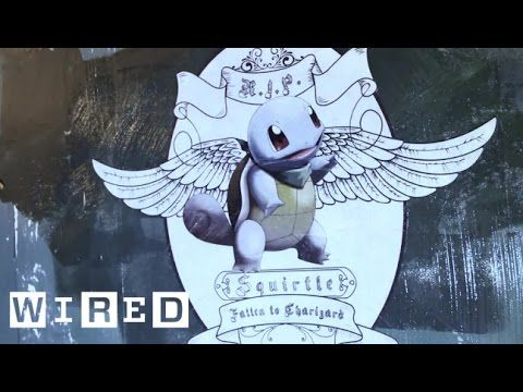 La street art omaggia i Pokémon caduti in battaglia   Artribune