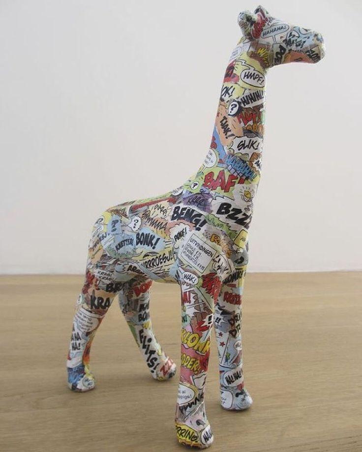 #decoupage #giraffe #comics #modpodge #jirafa