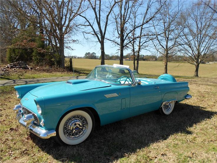 1956 Ford Thunderbird. @designerwallace  My dream car.