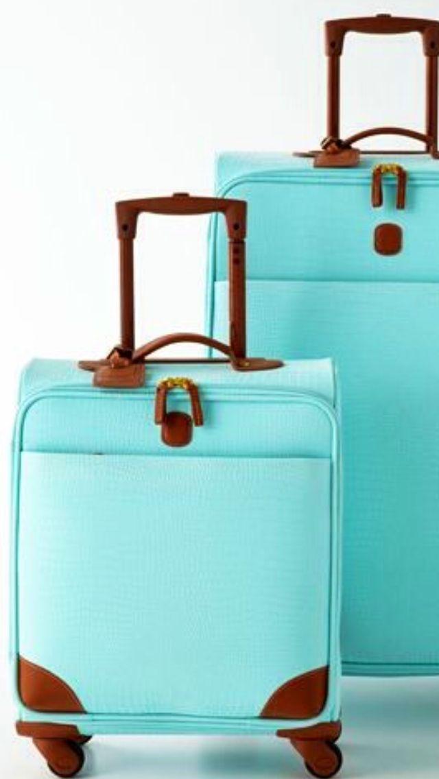 Tiffany Blue Luggage aqua teal turquoise accessories
