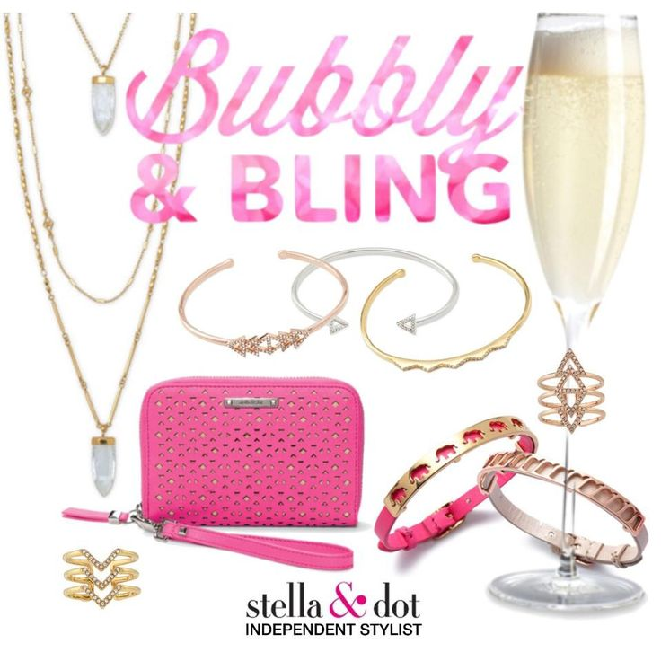 My Two Favorite things! Bubbly & Stella & Dot! Www.stelladot.com/laurenweber