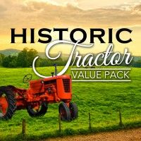 Tractors helped revolutionize the farming world. The Historic Tractors Value Pack provides you with detailed information, pictures, and articles on some of the most famous and historic tractors. These pictorial guides cover comprehensive information on the models produced and company history. This exclusive value pack is a great addition for antique machinery and tractor collectors.