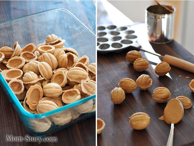печенье орешки рецепт с фото
