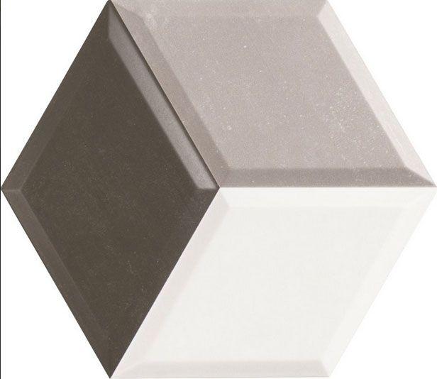 εξάγωνο πλακάκι σαν διαμάντι diamont 33x28,5