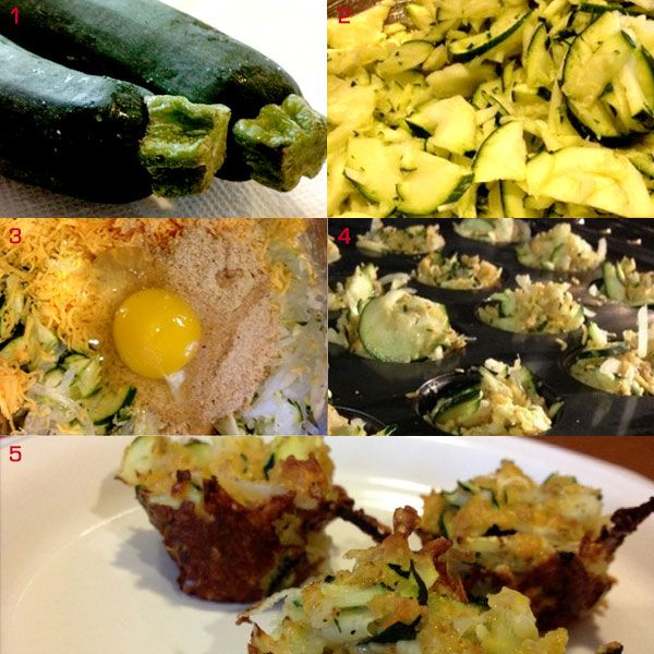 Zucchini Cheesy Bites / Cheesy Bites de calabacín