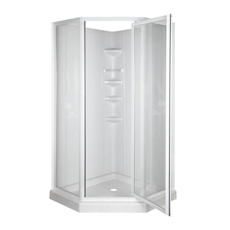 17 Best Ideas About Corner Shower Units On Pinterest