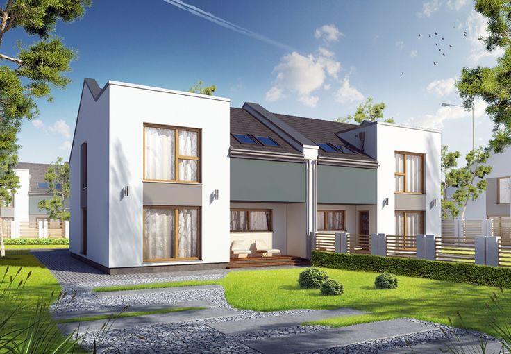 Doppelhäuser Danwood Partner 142 || #doppelhauser || http://www.danwood.de/hauser/doppelhauser/partner-142