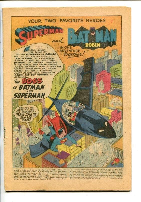 World's Finest - DC - Silver-Age - COMICS