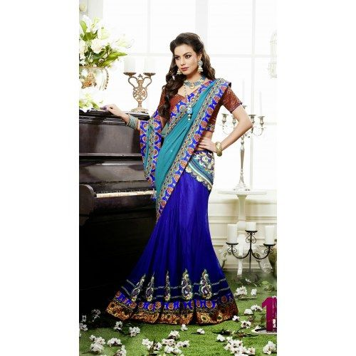 Prodigious Party Wear Saree | Indian Sarees by Craftsvilla for Online ...