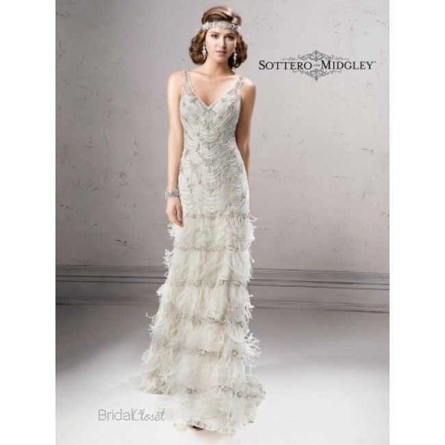 31 besten Great Gatsby Wedding Dresses Bilder auf Pinterest ...