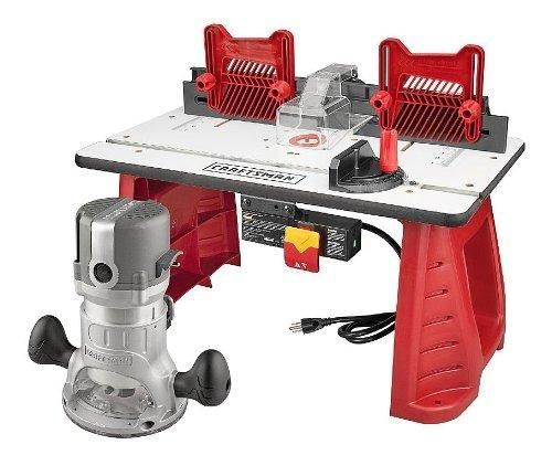#Sears: Craftsman Router and Router Table Combo - $71.99 with free in store pickup http://www.lavahotdeals.com/us/cheap/craftsman-router-router-table-combo-71-99-free/51511