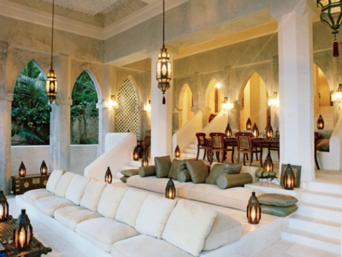 middle east inspired...love the open space!