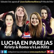 Resultado de imagen para luchadora chilena roma