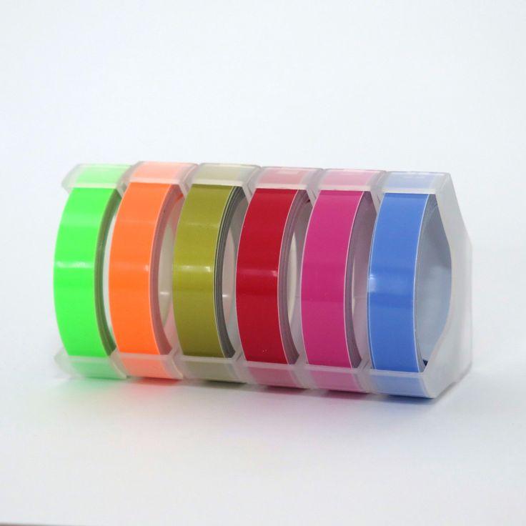 New to Hobbyhoppers on Etsy: Label Maker Refill Motex Retro Embossing Label Maker Tape Refill Bundle of 6 (35.00 AUD)
