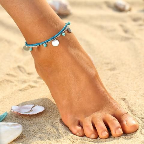 Summer Beaded Ankle Bracelet   Anklet
