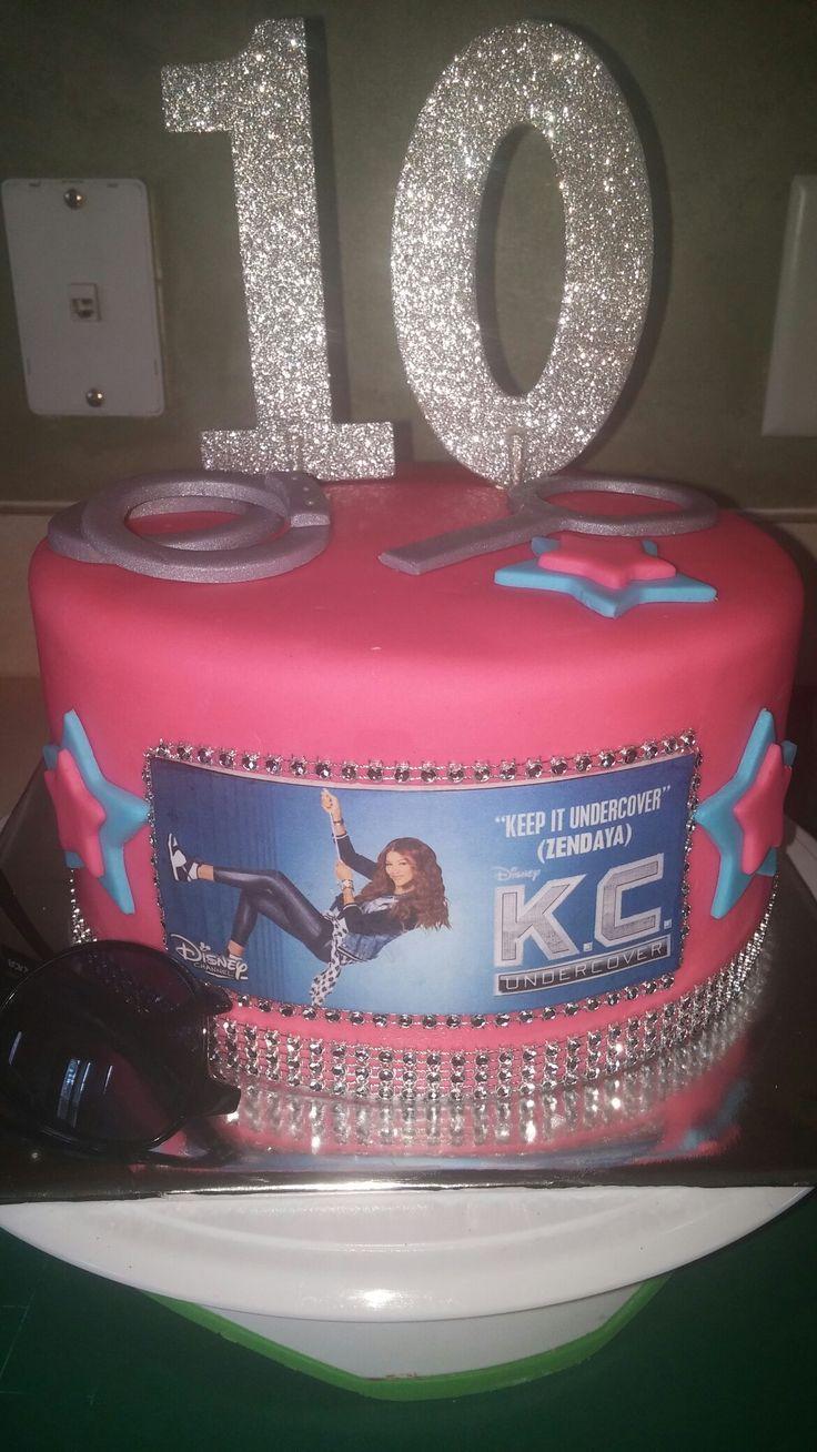 Kc Undercover Cake Topper