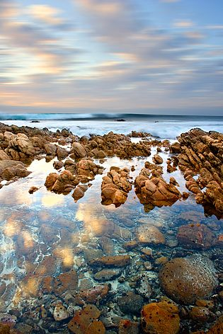 Explore beaches and rock pools @ South Point, Yallingup