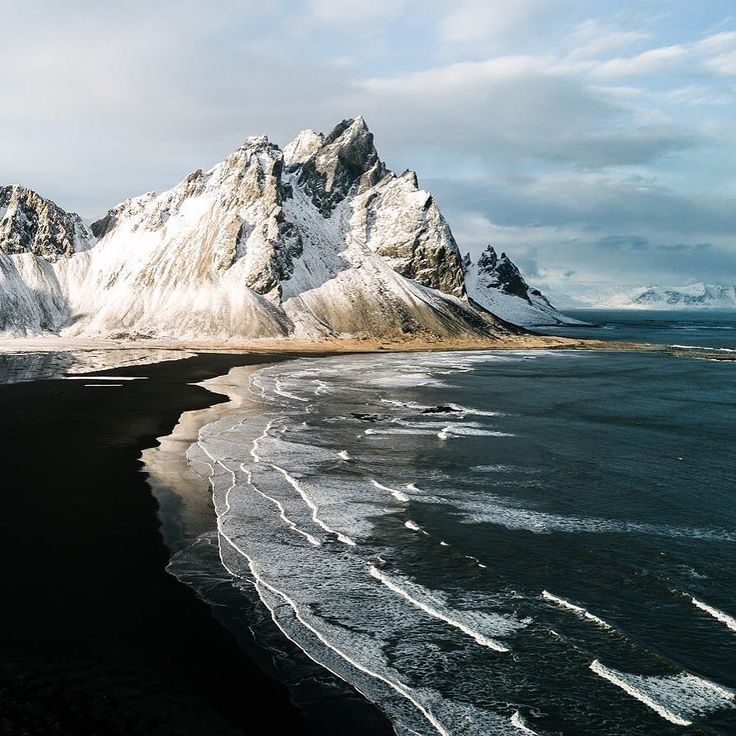When a place decides to have sand in your favorite color. Forever in love with black beaches. michaelschauer.com #landscape #travel #nature #explore #outdoors #wanderlust #fernweh #photography