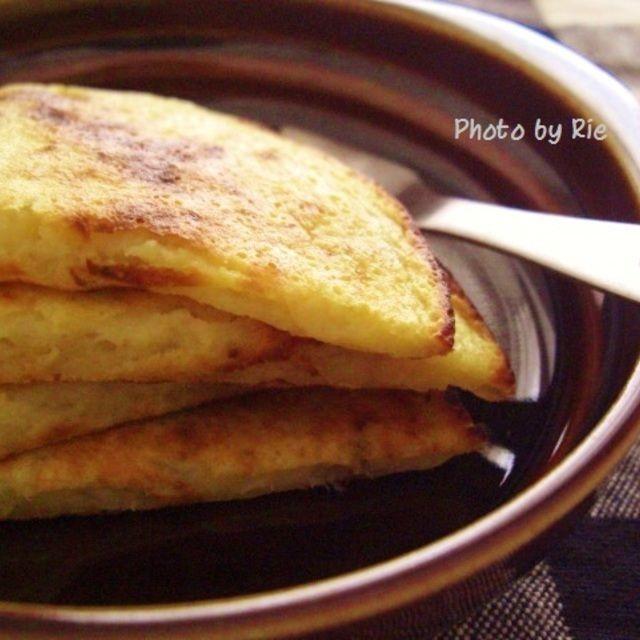 【離乳食】バナナパンケーキ
