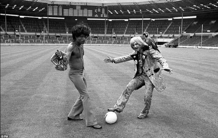 Little Richard, Screaming Lord Sutch at Wembley