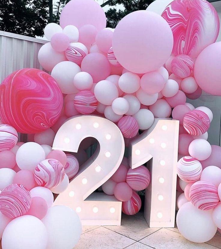 Поздравить с 21 годом девушку