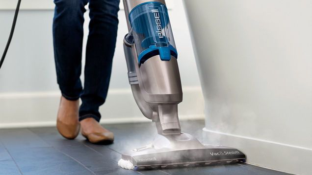 Cut Your Cleaning Time In Half: This $85 Bissell Vacuum Is Also a Steam Mop