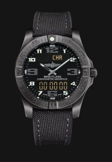 My Breitling made to measure - Breitling Aerospace Evo - Quartz pilot's chronograph