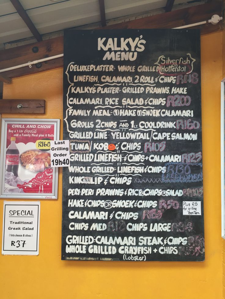 Kalky's Fish and Chips - Kalk's Bay, Cape Town, ZA