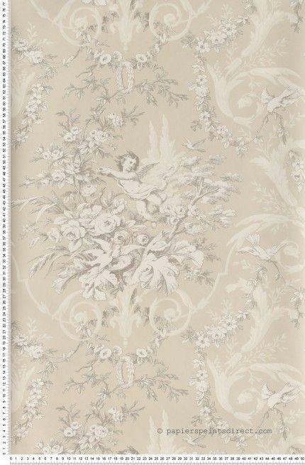 Ange sur toile gris papier peint lut ce angel for Papier peint lutece chambre