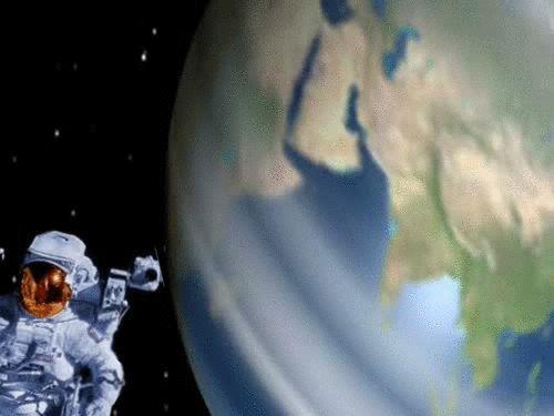 space univers earth planets animation tony danis gif