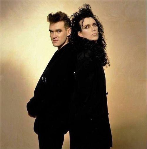 Morrissey & Pete Burns