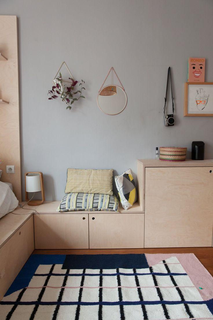 Elsa Poux und Jean-Claude, Matteo 15, Pflaume 13 Jahre   – Chambres d'enfant – Room for kids