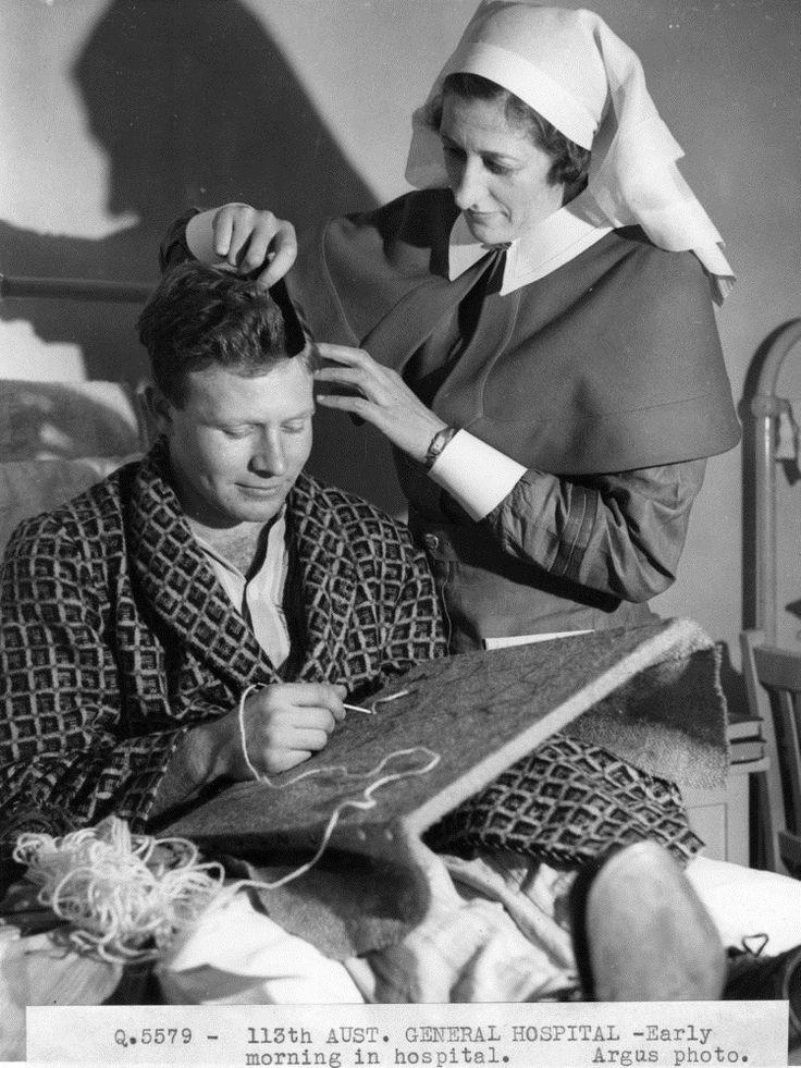 113th Aust [i.e. Australian] General Hospital. ca. 1943.