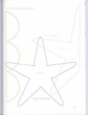 Patró estrella de mar Tilda