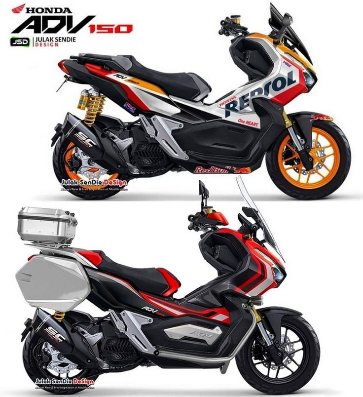 """ADV150 INDONESIA 🇲🇨 di Instagram """"Racing or Touring"""