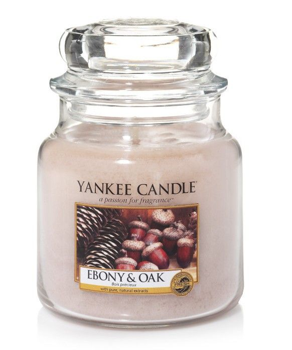 Bois précieux - Bougie moyenne jarre - Yankee Candle