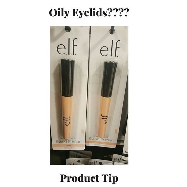 I recommend this product from ELF as an Eyelid Primer if you have oily eyelids.  I had a client ask me what would she recommend.  She wanted to wear eyelashes but she couldn't maintain her oily lids.  I hope this helps someone.  Shop www.zivalash.com for