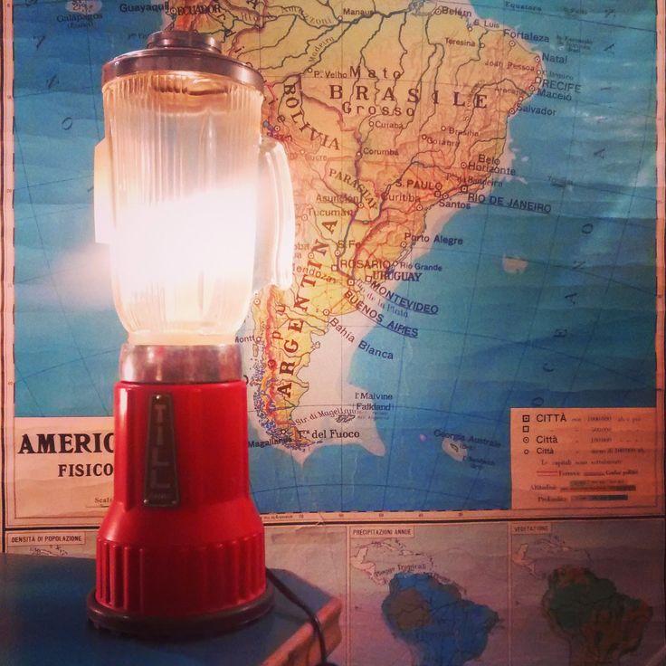 miss lamparita sixties blender lamp