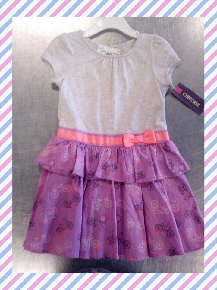We get an assortment of brand new clothing in almost daily! This Cherokee brand dress is only $6.50!