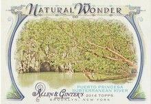 2014 Topps Allen Ginter Natural Wonder #NW-06 Puerto Princesa Subterranean River