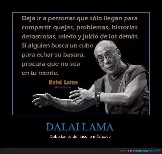 Las opiniones del dalai lama sobre el sexo