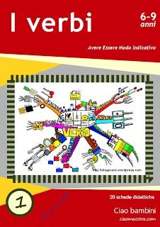 Ciao bambini: Ebook sui verbi Primo volume