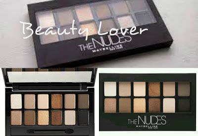 Beauty Lover: NUEVA PALETA, MAYBELLINE THE NUDES....
