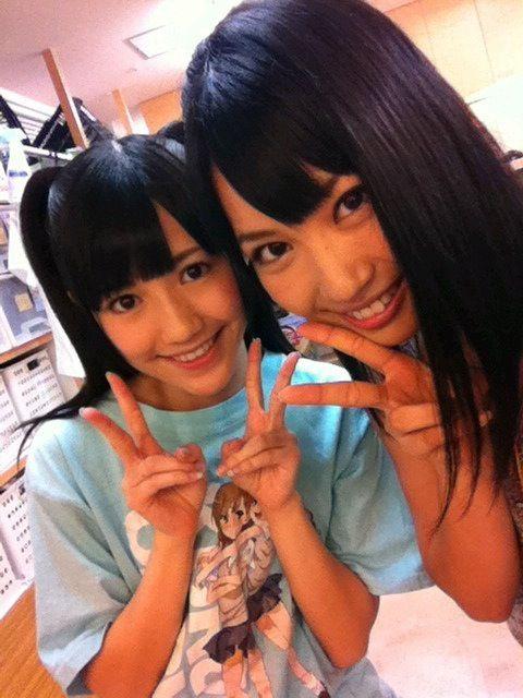 Mayuyu wearing a Railgun T-shirt! (・∀・) #AKB48