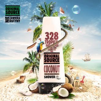 Original Source coconut shower gel
