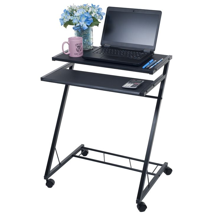 Top 25 ideas about mobile computer desk on pinterest - Mobile office desk ...