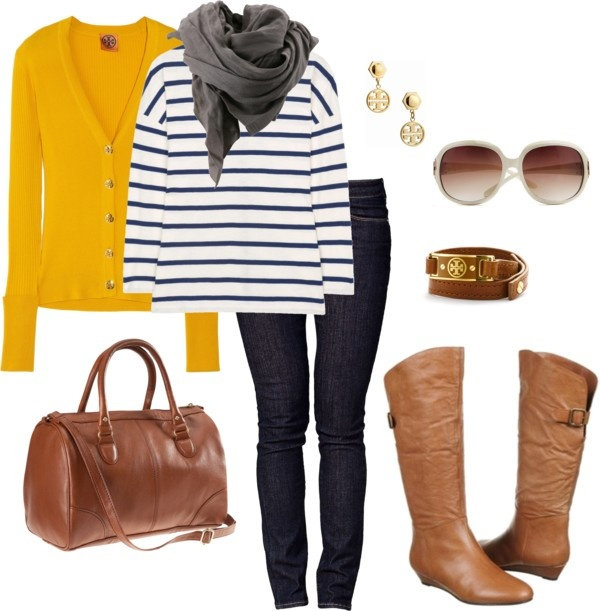 """cognac boots and accessories"" by famousblog ❤ liked on Polyvore"