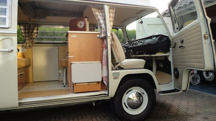 1970 VW Westy Campmobile Interior
